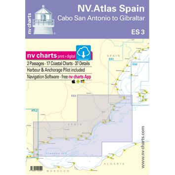 NV Atlas Spain ES3: Cabo San Antonio to Gibraltar