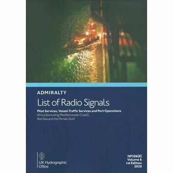 Admiralty NP286(8) List of Radio Signals (Volume 6 - Part 8)