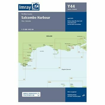 Imray Chart Y44: Salcombe (Small Format)