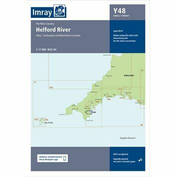 Imray Chart Y48: Helford River
