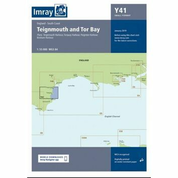 Imray Chart Y41: Teignmouth and Tor Bay