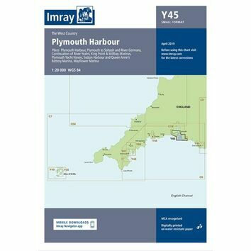Imray Chart Y45: Plymouth Harbour