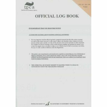 MCA Official Log Book
