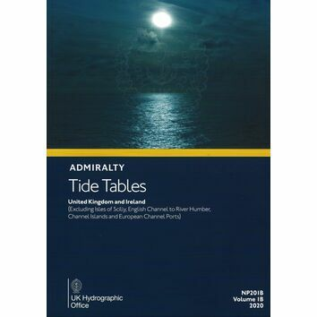Admiralty NP201B Tide Tables 2020: UK & Ireland
