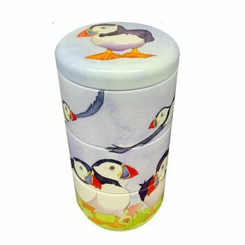 Emma Ball Puffins Stacking Tins
