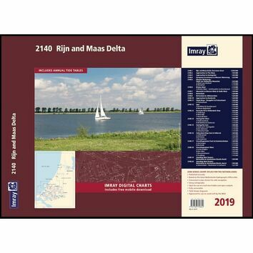 Imray 2140 Rijn and Maas Delta Chart Atlas