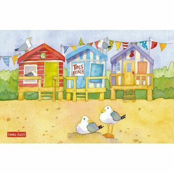 Emma Ball Tea Towel - A day at the Seaside