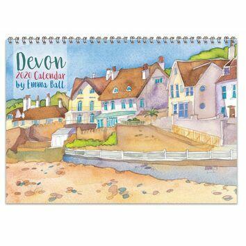 Emma Ball Devon Calendar 2020
