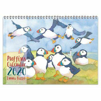 Emma Ball Puffins Calendar 2020
