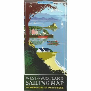 West of Scotland Sailing Map