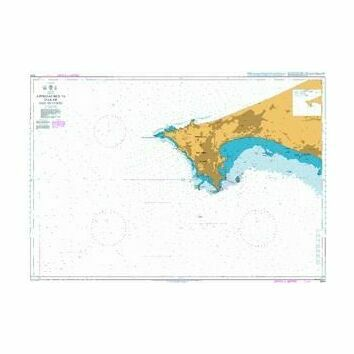 1000 Approaches to Dakar Baie de Goree Admiralty Chart