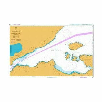 1004 Canakkale Bogazi (The Dardanelles) to Marmara Adasi Admiralty Chart