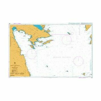 1031 Akra Yerakas to Nisos Kea Admiralty Chart
