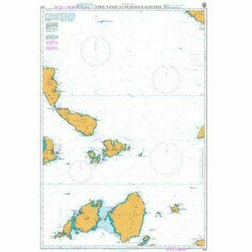 1041 Nisos Naxos to Vrakhoi Kaloyeroi Admiralty Chart