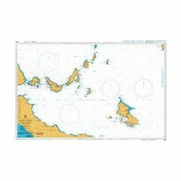 1062 Nisos Vorioi Sporadhes Admiralty Chart