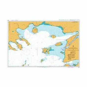 1086 Edremit Korfezi to Strimonikos Kolpos Admiralty Chart