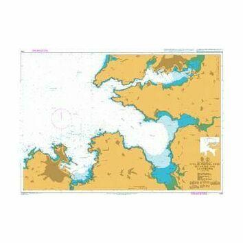 1094 Rias de Ferrol, Ares, Betanzos and la Corona Admiralty Chart