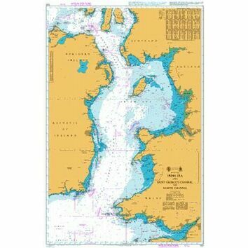 1121 Irish Sea with St. George's & North Channel Admiralty Chart