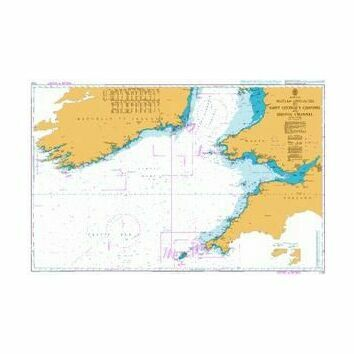 1123 Western Approaches to St. George's and Bristol Channel Admiralty Chart
