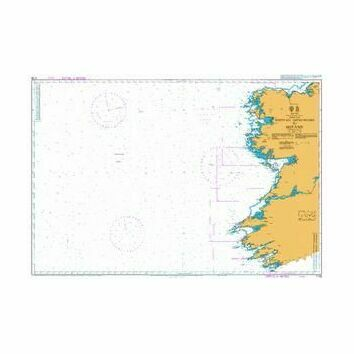 1125 Western Approaches to Ireland Admiralty Chart