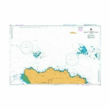 1136 Jersey - North Coast Admiralty Chart