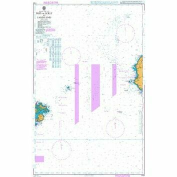 1148 Isles of Scilly to Land Admiralty Chart