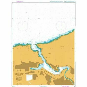 1157 Pasaia (Pasajes) and approaches Admiralty Chart