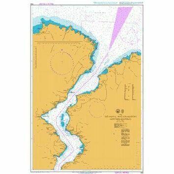 1158 Istanbul Bogazi Kuzeyi (Northern Bosporus) Admiralty Chart