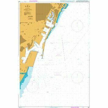 1180 Barcelona Admiralty Chart