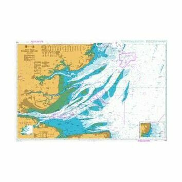 1183 Thames Estuary Admiralty Chart