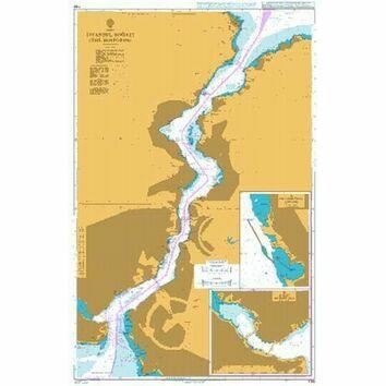 1198 Istanbul Bogazi (The Bosporus) Admiralty Chart