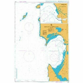 1205 Oristano and Approaches Admiralty Chart