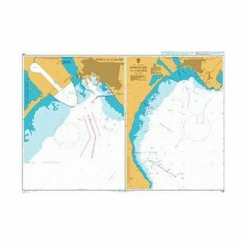 1208 Approaches to Cagliari Admiralty Chart