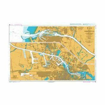 124 Noordzeekanaal, inc. Ijmuiden, Zaandam & Admiralty Chart