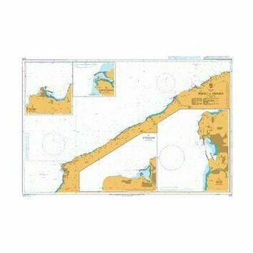 1275 Eregli to Amasra Admiralty Chart