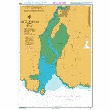1344 Kirkcudbright Bay Admiralty Chart
