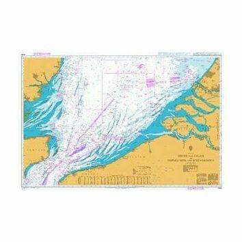 1406 Dover & Calais to Orford Ness & Scheveningen Admiralty Chart