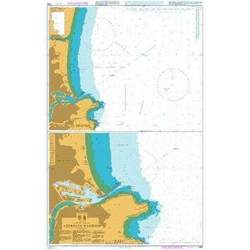 1446 Aberdeen Harbour Admiralty Chart