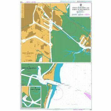 1449 Porto Marghera and Porto di Malamocco Admiralty Chart