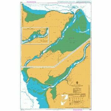 1464 Menai Strait Admiralty Chart