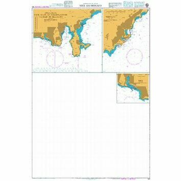 149 Toulon- Nice and Monaco Admiralty Chart