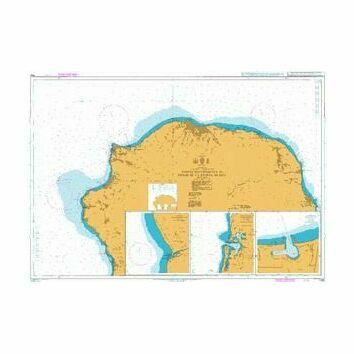 1495 Pointe des Chateaux to Pointe de la Riviere du Mat Admiralty Chart