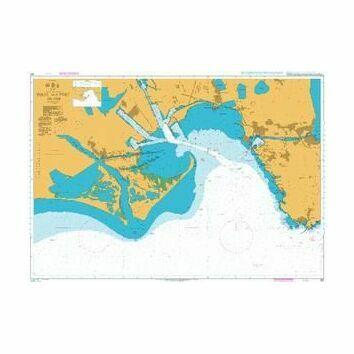 155 Golfe and port de Fos Admiralty Chart