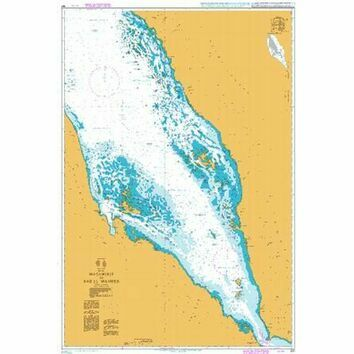 157 Red Sea,Masamirit to Bab el Mandeb Admiralty Chart