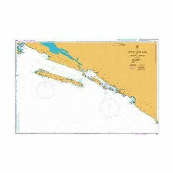 1580 Otocic Veliki to Otocic Glavat Admiralty Chart