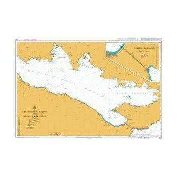 1600 Korinthiakos Kolpos and Dhioriga Korinthou Admiralty Chart