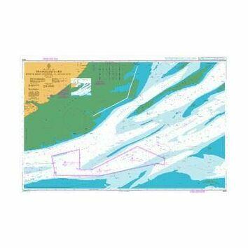1609 Thames Estuary, Black Deep to Sea Reach Admiralty Chart