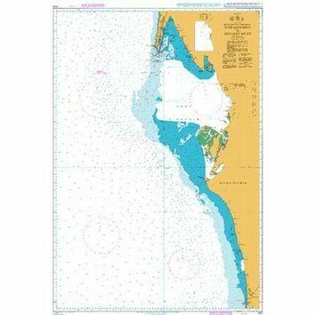 1661 Nouadhibou to Nouakchott Admiralty Chart