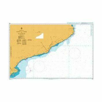 1704 Punta de la Bana to Islas Medas Admiralty Chart
