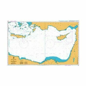 183 Ra's At Tin to Iskenderun Admiralty Chart